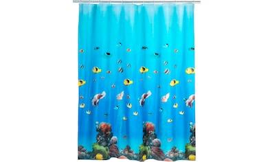 WENKO Duschvorhang »Ocean«, Breite 180 cm, Höhe 200 cm kaufen