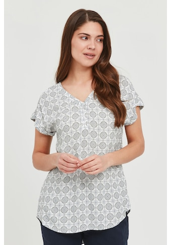 fransa Kurzarmbluse »FXSUTILE 2 Blouse«, Damen Bluse mit kurzen Ärmeln kaufen