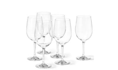 LEONARDO Rotweinglas »Leonardo Rotweinglas Ciao 610 ml, 6«, (6 tlg.), extrem stossfest kaufen