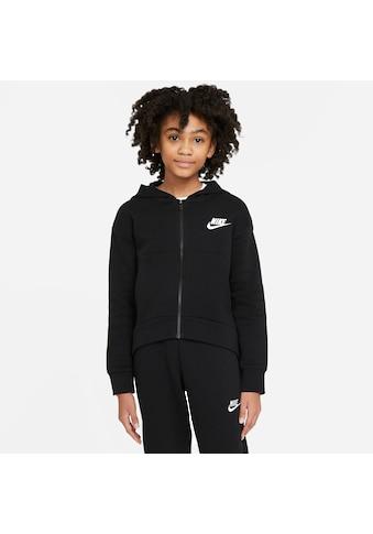 Nike Sportswear Sweatjacke »G Nsw Club Flc Fz Hoodie« kaufen