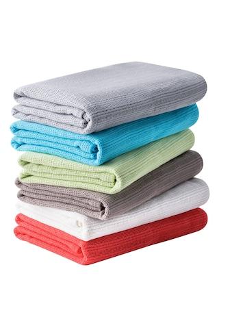 Wolldecke »Sommer-Baumwolldecke« kaufen