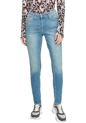Q/S by s.Oliver Skinny-fit-Jeans »Sadie«, aus hochwertigem Bi-Stretch-Denim kaufen