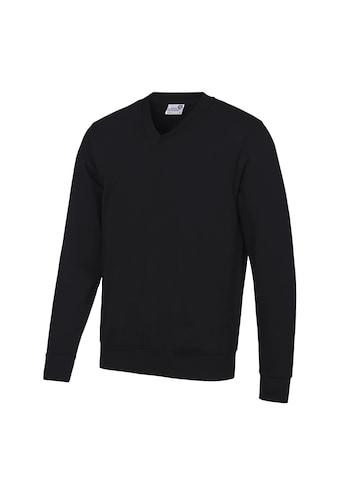 AWDIS V-Ausschnitt-Pullover »Academy Herren Sweatshirt, V-Ausschnitt« kaufen