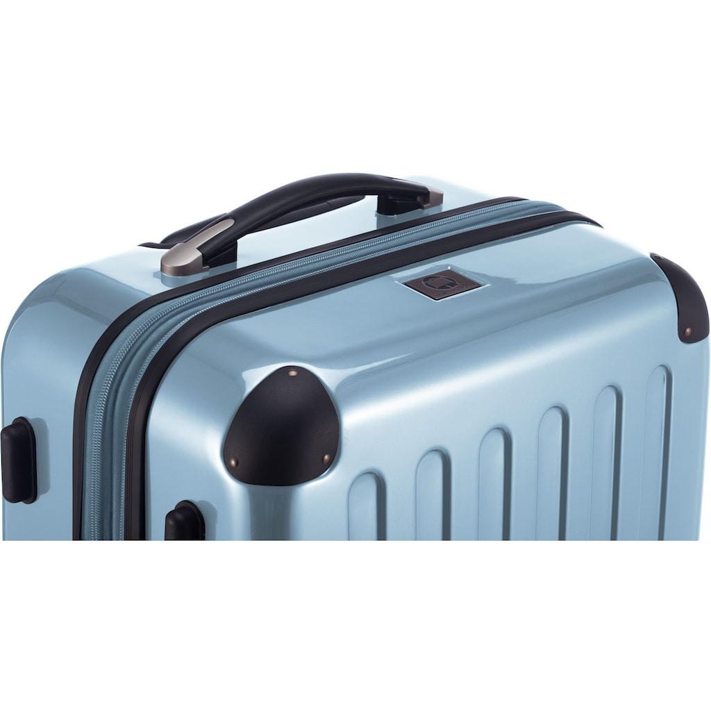 Hauptstadtkoffer Hartschalen-Trolley »Alex, 55 cm, Pool Blue«, 4 Rollen