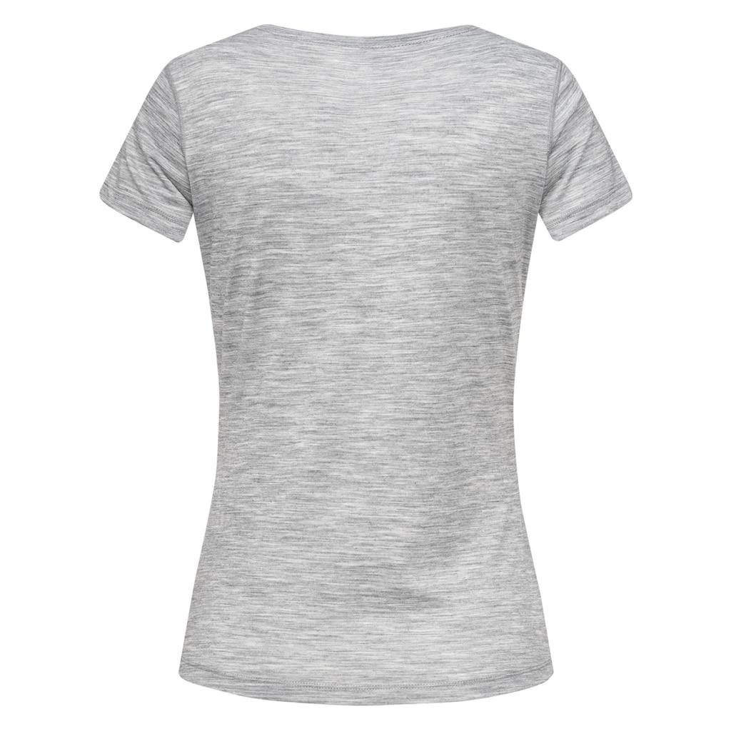 SUPER.NATURAL T-Shirt »W BASE V-NECK TEE 140«, feinster Merino-Materialmix
