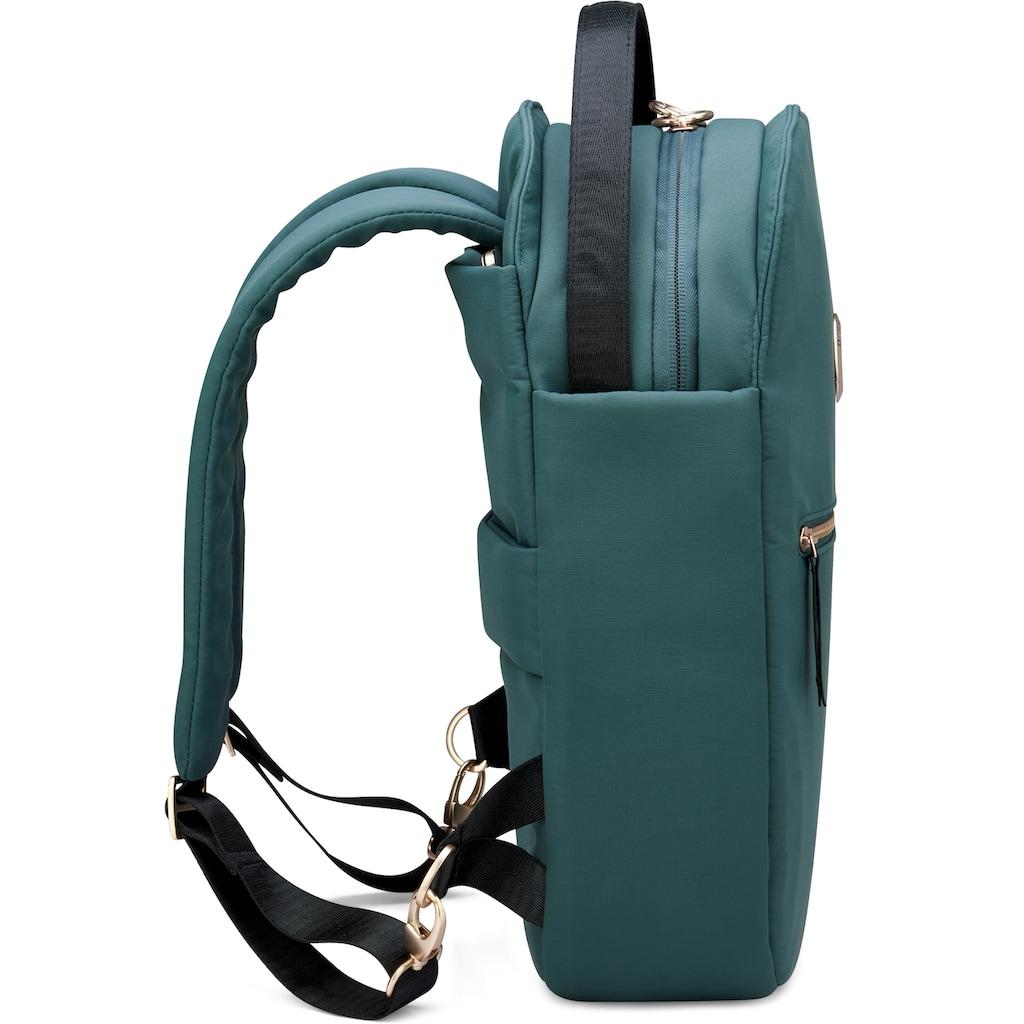 Delsey Laptoprucksack »Securstyle, deep green«