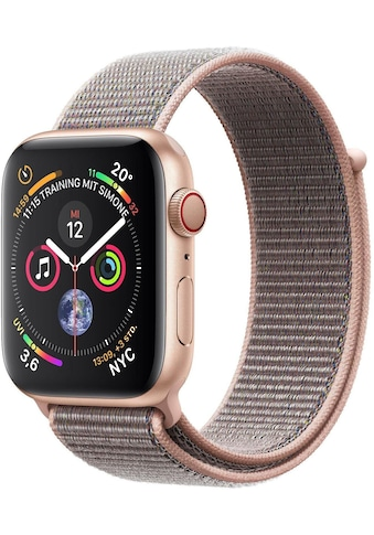 Series 4 GPS + Cellular, Aluminiumgehäuse mit Sportarmband Loop 44 mm Watch, Apple kaufen