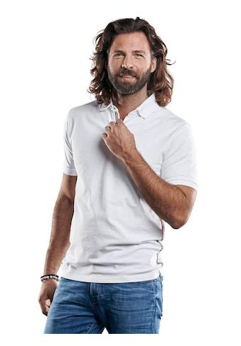 emilio adani sportives Poloshirt mit Galonstreifen kaufen