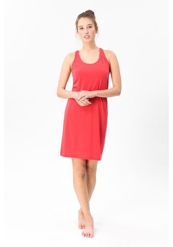 SUPER.NATURAL Sommerkleid »W ESSENTIAL RACER DRESS«, toller Merino-Materialmix kaufen