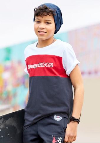 KangaROOS T-Shirt »in Colorblockdesign« kaufen