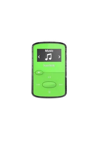 MP3 Player, SanDisk, »Clip Jam 8GB Grün« kaufen