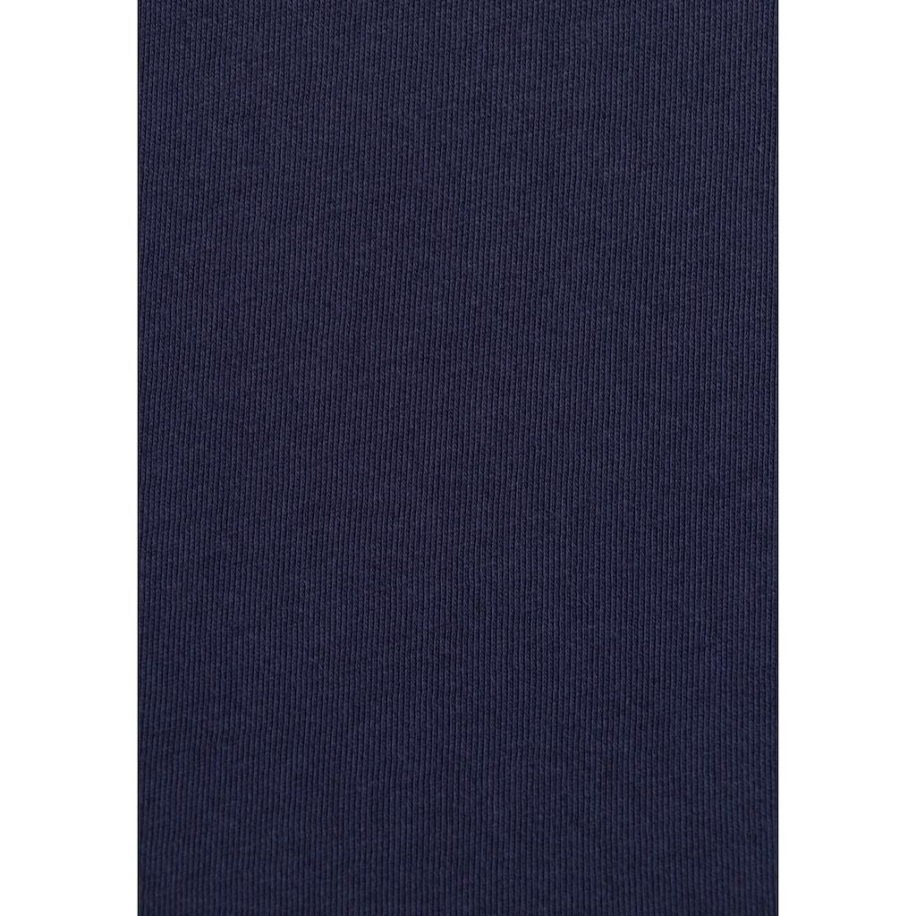 Tommy Jeans Rundhalsshirt »TJW SLIM JERSEY C NECK«, mit Tommy Jeans Logo-Flag auf der Brust