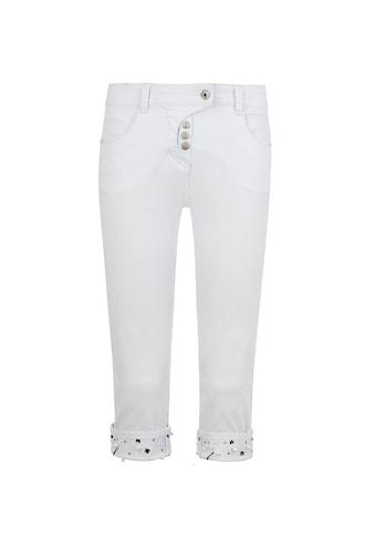 MILLION - X Jeansshorts »Victoria 3/4 Turn Up Stones« kaufen