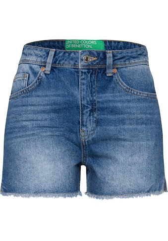 United Colors of Benetton Shorts, mit Fransen am Saum kaufen