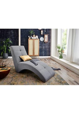 ATLANTIC home collection Relaxsessel »CARIN«, Polsterliege zum Lesen, Fernsehen oder auch fürs Gaming kaufen