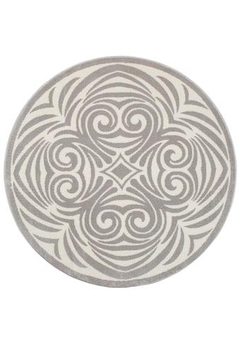andas Teppich »Kusma«, rund, 11 mm Höhe, Wohnzimmer kaufen