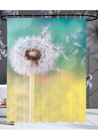 Sanilo Duschvorhang »Pusteblume«, Breite 180 cm, Höhe 200 cm kaufen