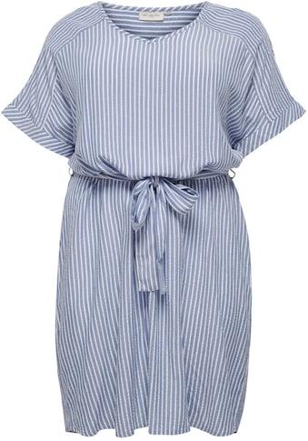 ONLY CARMAKOMA Sommerkleid, Mit Bindeband auf Taillenhöhe kaufen