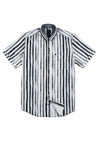 Engbers Softes Baumwoll - Popelinhemd mit Streifen - Print kaufen