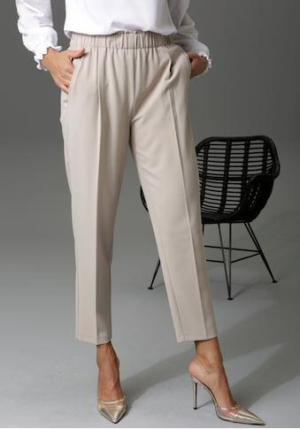 Aniston CASUAL Schlupfhose, in trendiger 7/8-Länge - NEUE KOLLEKTION kaufen