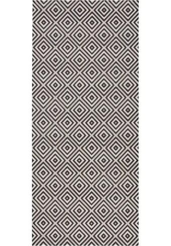 Läufer, »Karo«, bougari, rechteckig, Höhe 8 mm, maschinell gewebt kaufen