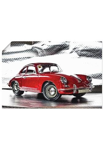Artland Wandbild »Klassiker - Der Porsche 356«, Auto, (1 St.), in vielen Grössen &... kaufen