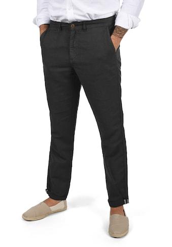 Solid Leinenhose »Loran«, lange Hose aus Leinen kaufen