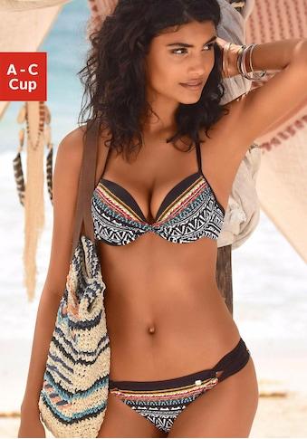 JETTE Push-Up-Bikini, mit Muster kaufen