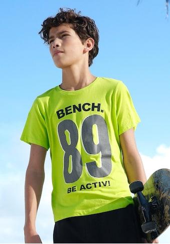 Bench. T-Shirt »BE ACTIV« kaufen