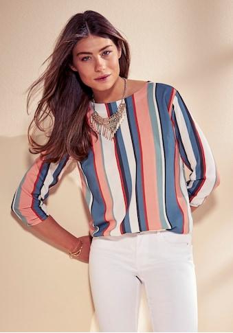 Laura Scott Shirtbluse, in modischem Streifen-Design kaufen