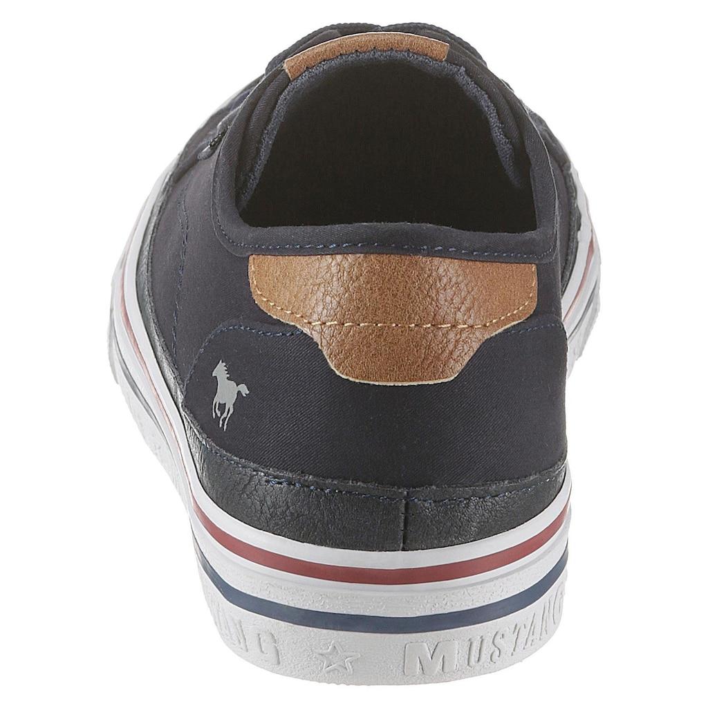 Mustang Shoes Sneaker, im lässigen Basic-Look