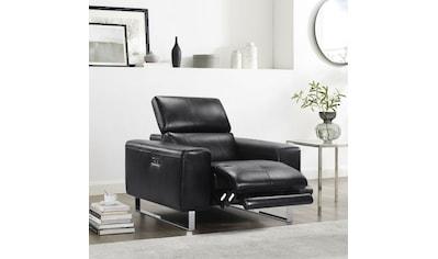Places of Style Sessel, mit elektrischer Relaxfunktion und manueller Kopfteilverstellung kaufen