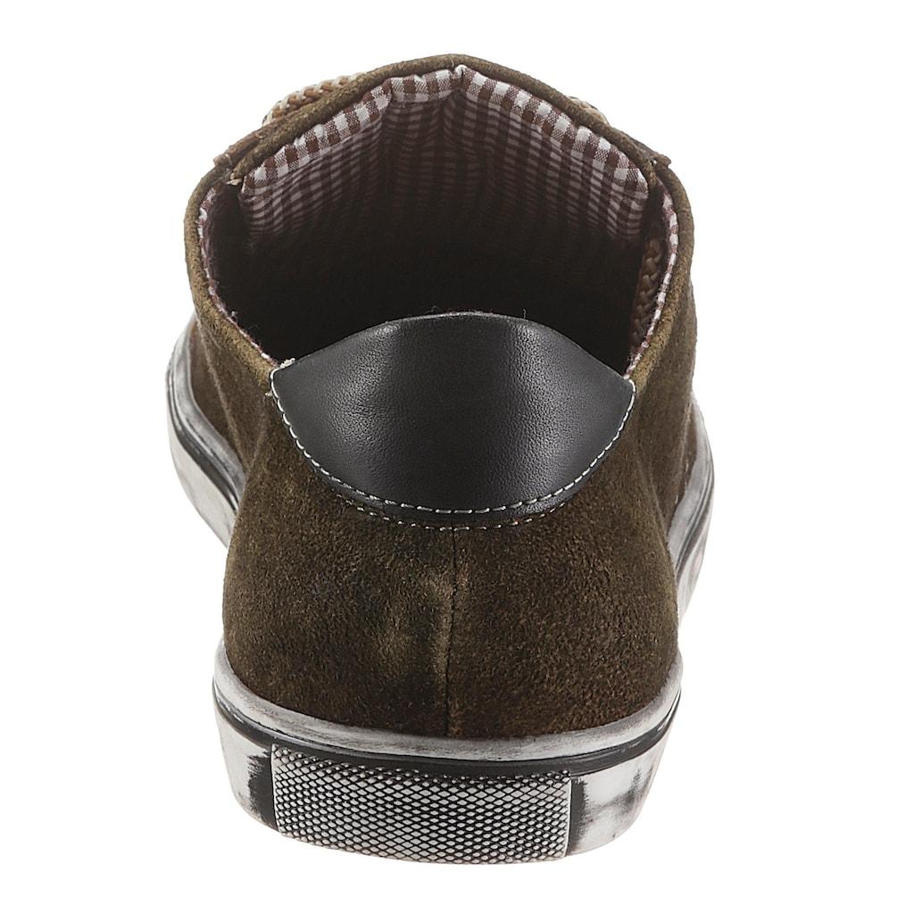 MarJo Schnürschuh, mit gemusterten Schnürsenkel