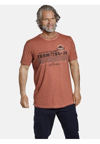 Jan Vanderstorm T-Shirt »HELGO«, jedes Shirt ist ein Unikat kaufen