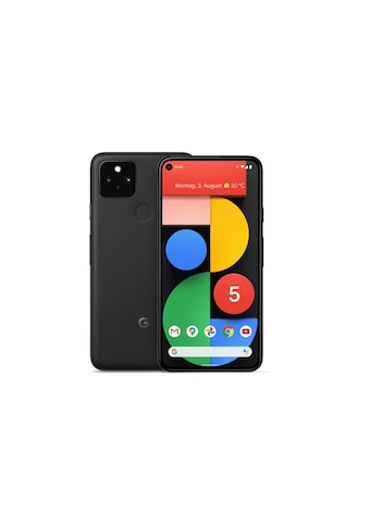 Google Smartphone »Google Pixel 5 128 GB Just Black«, (, 12 MP Kamera) kaufen