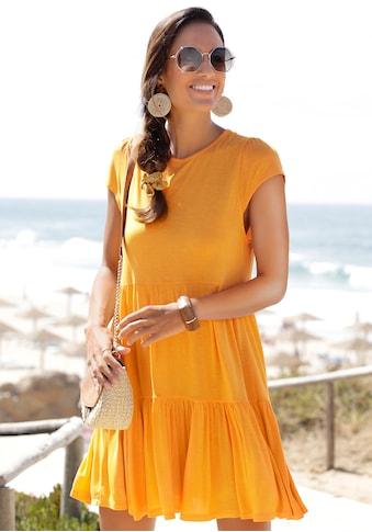 LASCANA Sommerkleid, mit Bindeband im Nacken kaufen