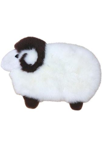 Heitmann Felle Fellteppich »Sheep«, Motivform, 40 mm Höhe, Spielteppich, echtes Lammfell kaufen
