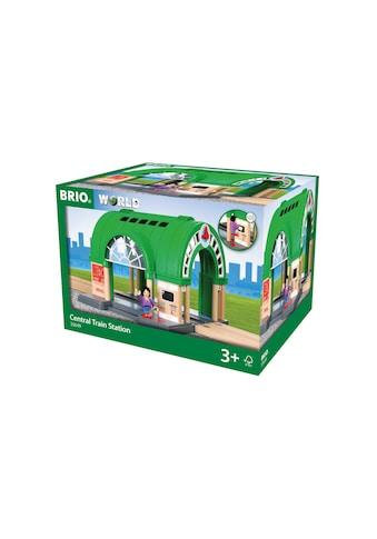 BRIO® Spielzeugeisenbahn-Gebäude »Hauptbahnhof mit Ticketautomat« kaufen