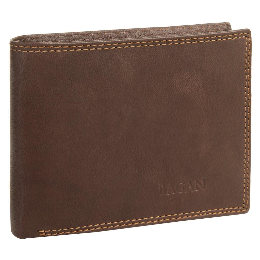 Bagan Geldbörse, 3fach klappbar