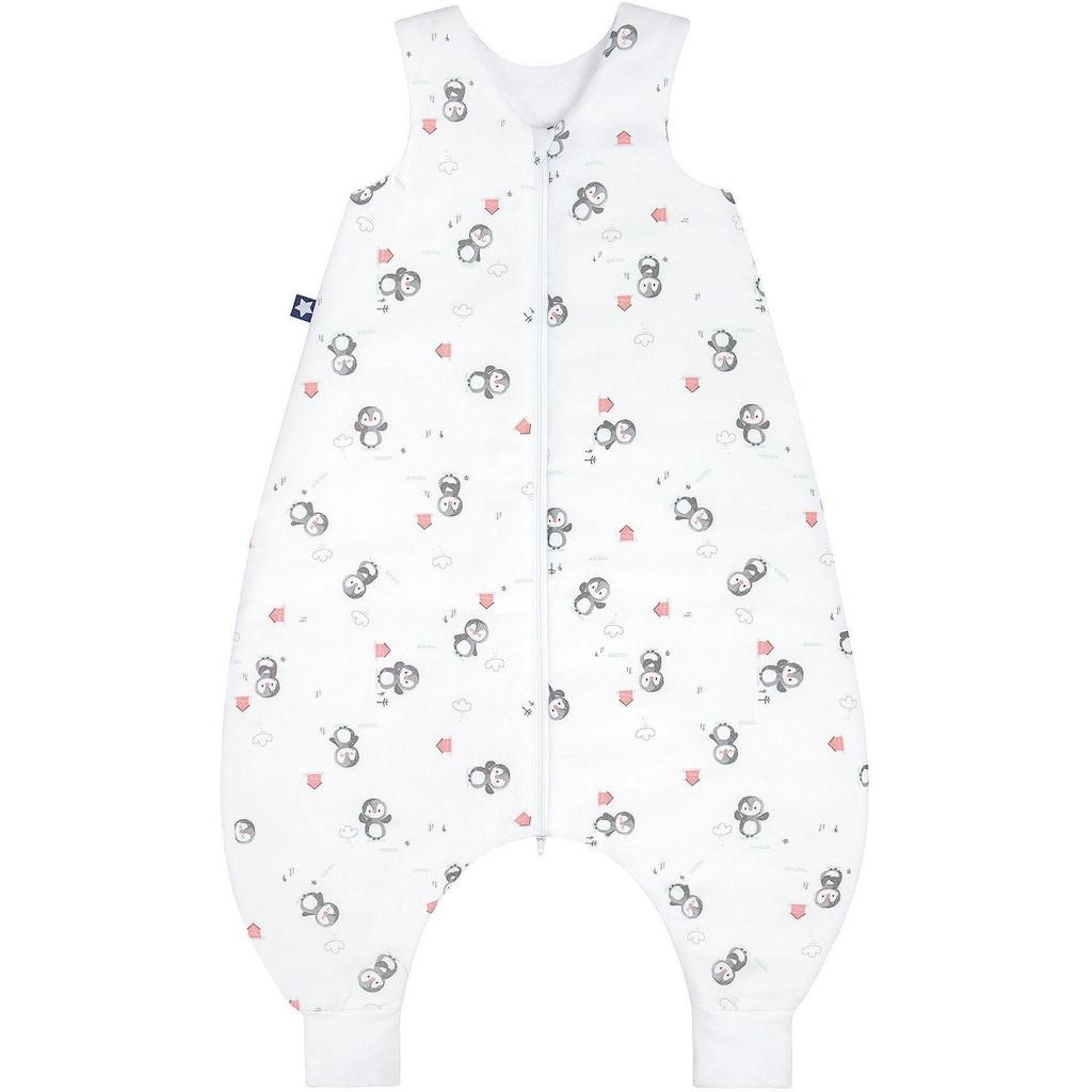 Julius Zöllner Babyschlafsack, mit Beinen Jersey Jumper Pinguin