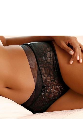 LASCANA Taillenslip, mit extraflachem Abschluss an der Taille kaufen