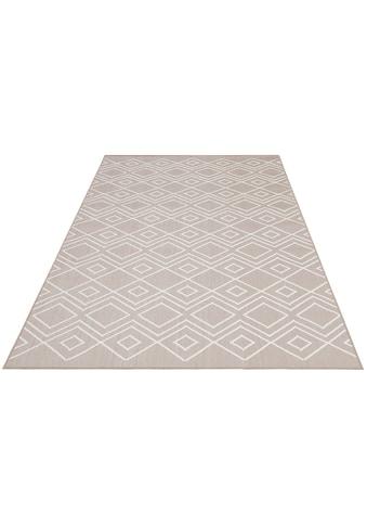 GOODproduct Teppich »Manni«, rechteckig, 5 mm Höhe, In-und Outdoor geeignet, Wohnzimmer kaufen