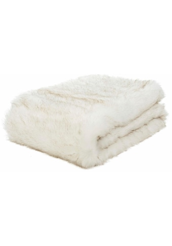 Gözze Wohndecke »Schneefuchs«, mit Kunstfell kaufen