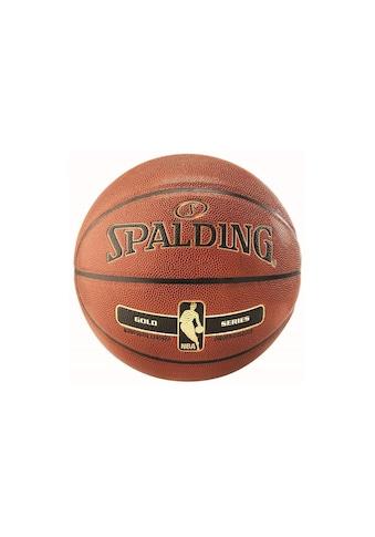Spalding Basketball »NBA Goldfarbenfarben«, Für Indoor und Outdoor kaufen