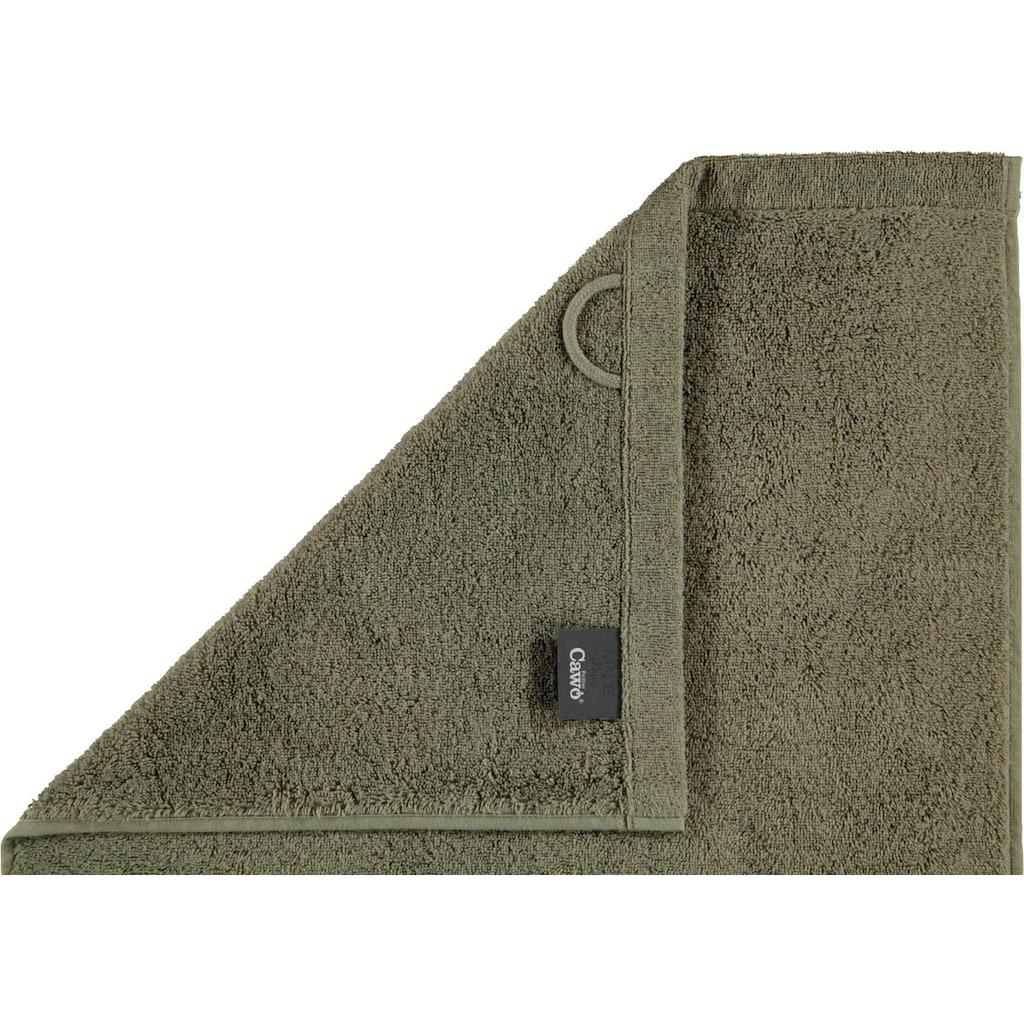 Cawö Handtücher »Lifestyle Uni«, (2 St.), aus 100% Baumwolle