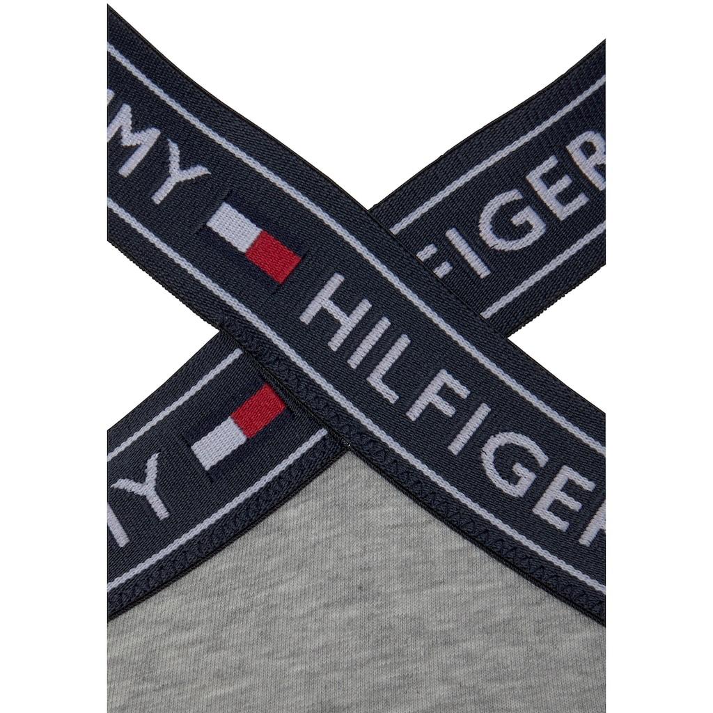 TOMMY HILFIGER Bustier »Nostalgia Cotton«, mit gekreuzten Trägern vorn