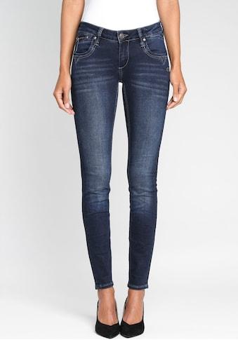 GANG Skinny-fit-Jeans »Nikita«, mit Zipper-Detail an der Coinpocket kaufen