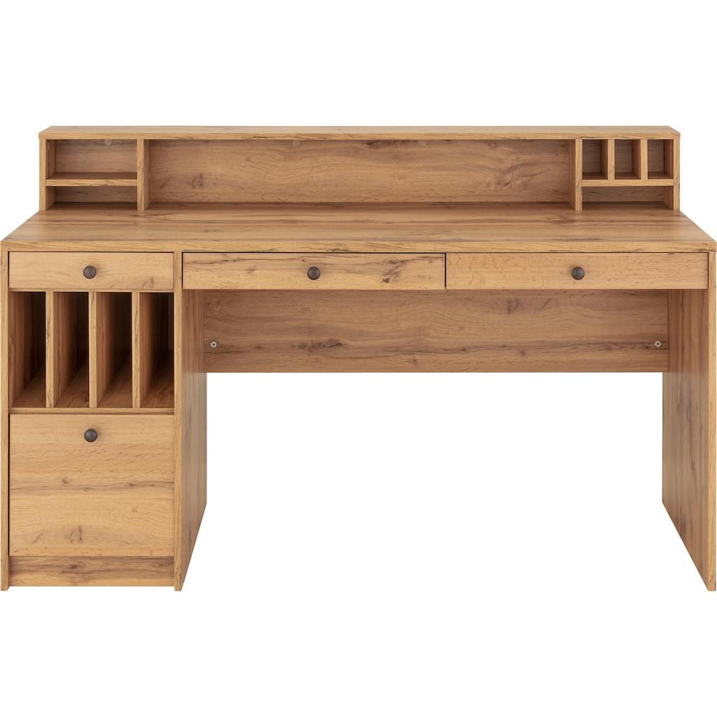 """Places of Style Schreibtisch »Licia«, Schreibtisch """"Licia"""" Grosse Arbeitsplatte mit viel Ablagefläche"""