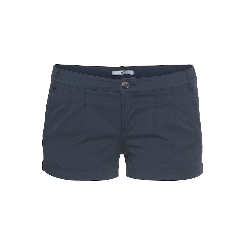 AJC Hotpants, mit Raffung vorne