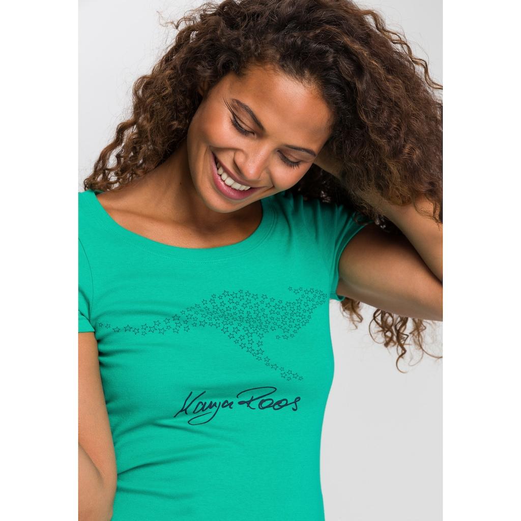 KangaROOS T-Shirt, mit grossem Label-Druck
